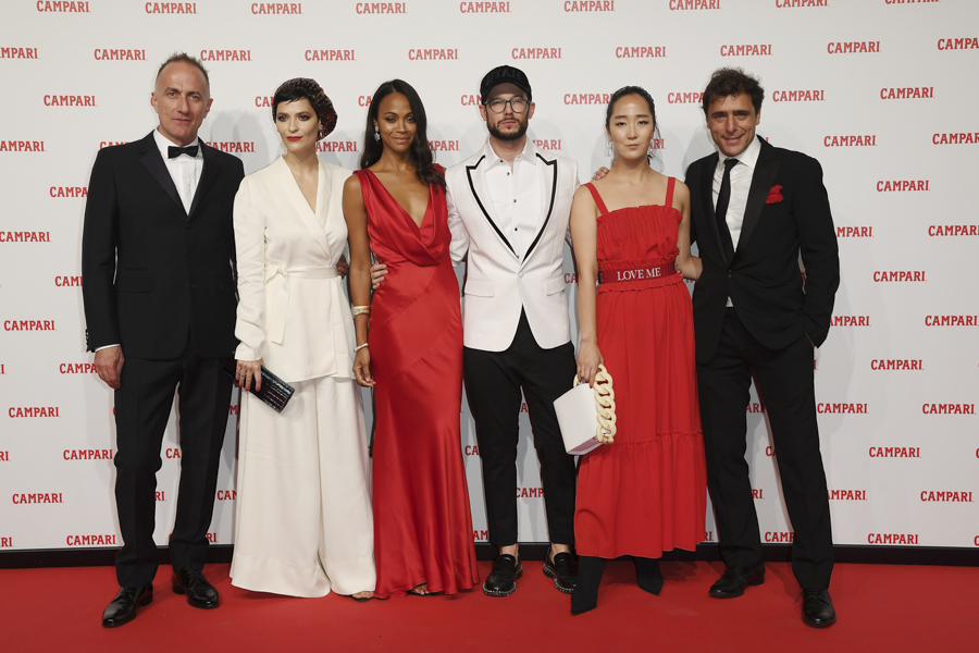 Campari Red Diaries - Red Carpet Premiere